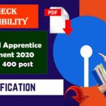 Odisha SBI Apprentice Recruitment 2020
