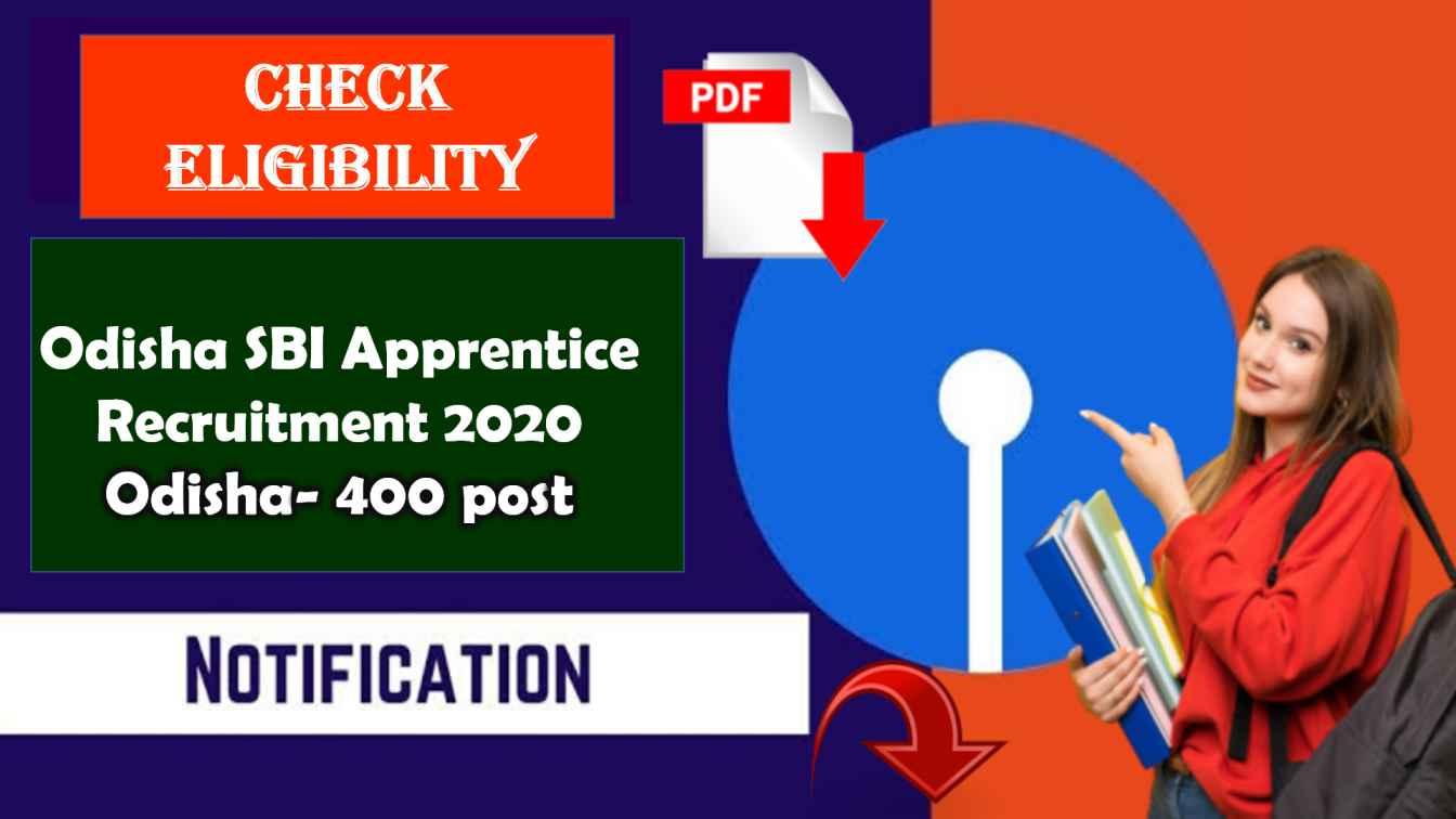 Odisha SBI Apprentice Recruitment 2020